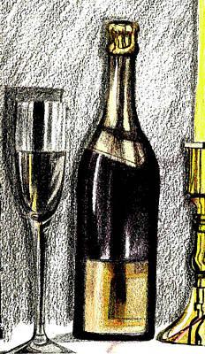 Wine Holder Drawings Prints