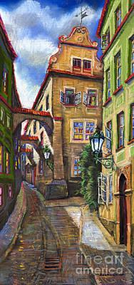 Prague Czech Republic Drawings