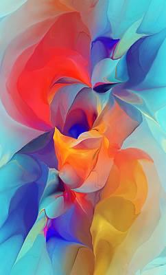 Gladiolas Digital Art