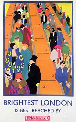 Escalator Paintings Prints