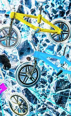 Designs Similar to Blue Bike Background
