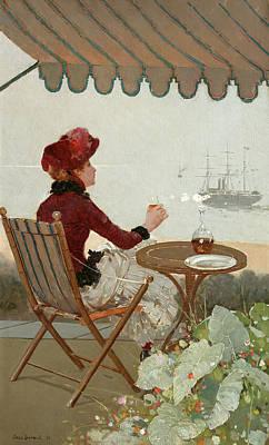 Designs Similar to Seaside Cafe, 1884