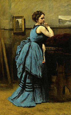 Designs Similar to The Lady In Blue, 1874
