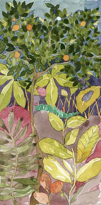Painting - Dusk by Nehal Desai