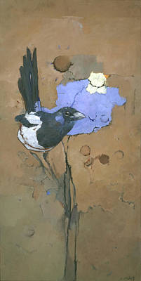 Painting - The Magpie by Steve Mitchell