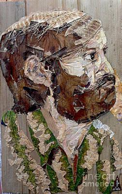 Philosopher Mixed Media Original Artwork