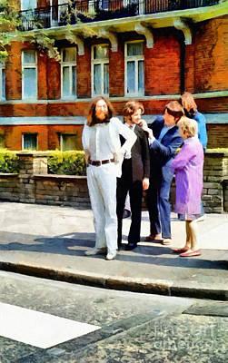 John Lennon Art Works Digital Art Prints