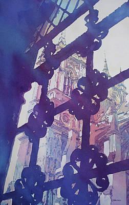 Westminster Abbey Original Artwork