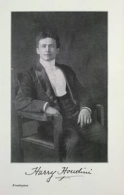 Harry Houdini Photographs