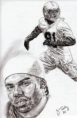 Randy Moss Drawings Prints
