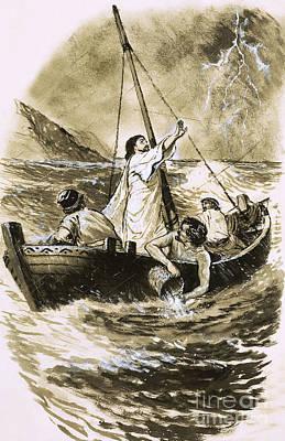 Christ Calms The Storm Prints