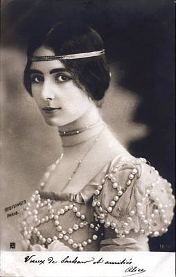 Designs Similar to Cleo De Merode by Reutlinger