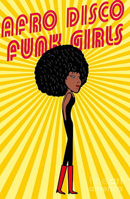 Designs Similar to Afro Disco Girls by A1vector