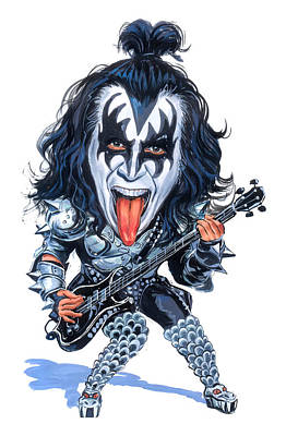 Designs Similar to Gene Simmons by Art
