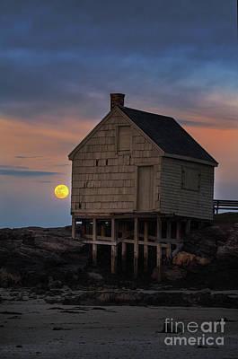 Designs Similar to Pink Moon At Willard Beach