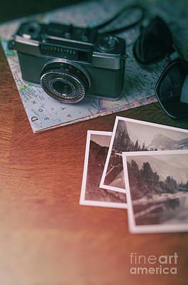 Designs Similar to Vintage Camera On Map