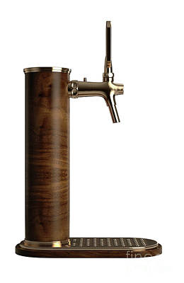 Designs Similar to Wooden Beer Tap Isolated