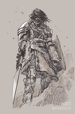 Designs Similar to Futuristic Knight With