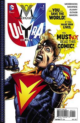 Designs Similar to Ultra Comics Earth 33 Dc