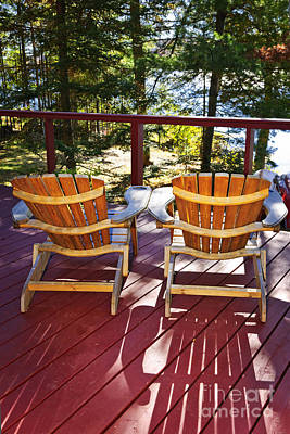 Designs Similar to Forest Cottage Deck And Chairs