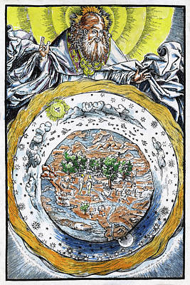 Designs Similar to Ptolemaic Universe, 1534