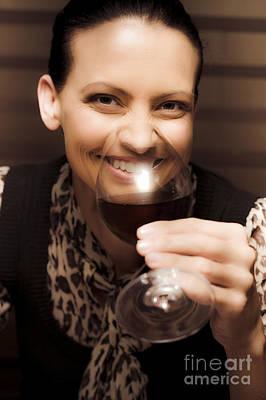 Women Sniffing Wine Prints