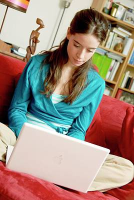 Designs Similar to Woman Using A Laptop Computer