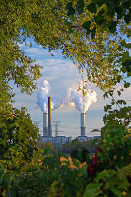 Power Plant Framed Prints