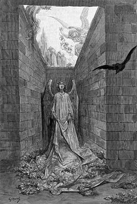 Designs Similar to The Raven by Gustave Dore