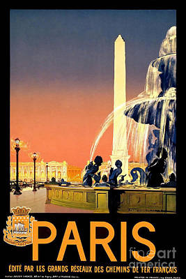 Designs Similar to Paris Vintage Travel Poster