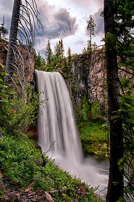 Designs Similar to Tumalo Falls by Cat Connor