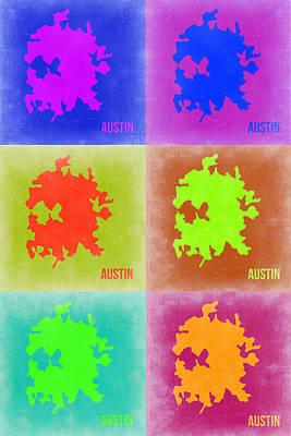 Designs Similar to Austin Pop Art Map 4