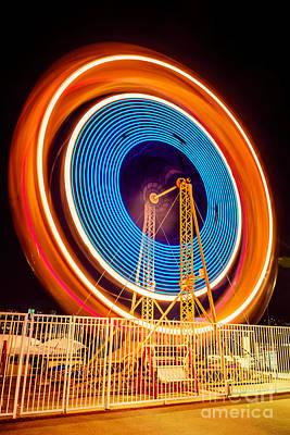 Spinning Wheels Art
