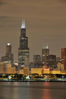 Designs Similar to Chicago Skyline At Night