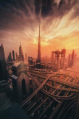 Designs Similar to Dubai's Fiery Sunset