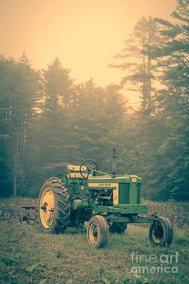Old Farm Equipment Photographs