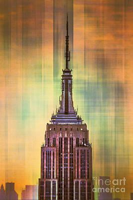 Tall Buildings Digital Art Prints