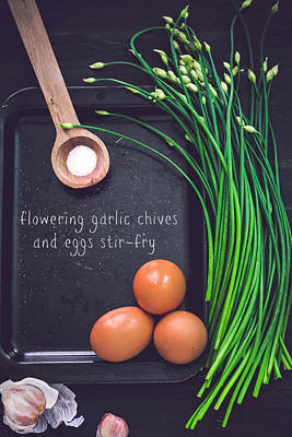 Designs Similar to Garlic Chives And Eggs