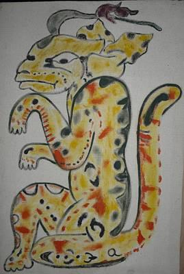 Mayan Character Paintings