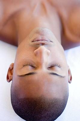 Designs Similar to Man Relaxing At A Spa