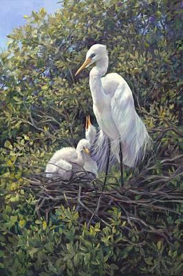 Bird In Tree Prints