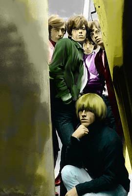 Rolling Stone Cover Paintings Original Artwork