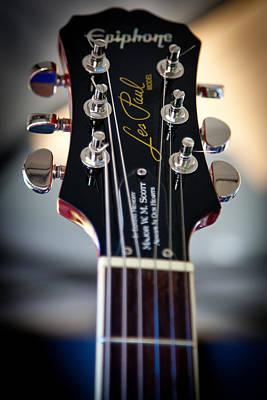 The Epiphone Les Paul Guitars Prints