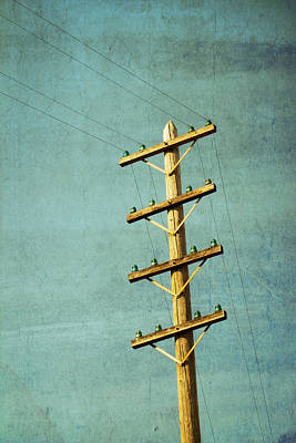 Telephone Poles Prints