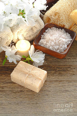 Bath Salt Scrub