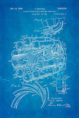 Engine Patent Prints