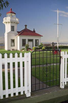White Pickett Fences Prints