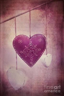 Purple Hearts Prints