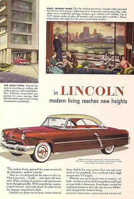 Designs Similar to Lincoln Cosmopolitan 1952