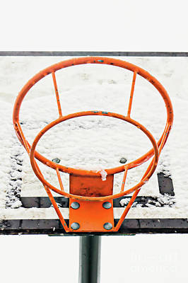 Designs Similar to Basketball Ring In The Snow